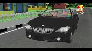 Happy Sheru Traffic Rules Da Dhyan Rakhyo Jaroor... - Happy Singh MH1 -By God Di Kasam_2