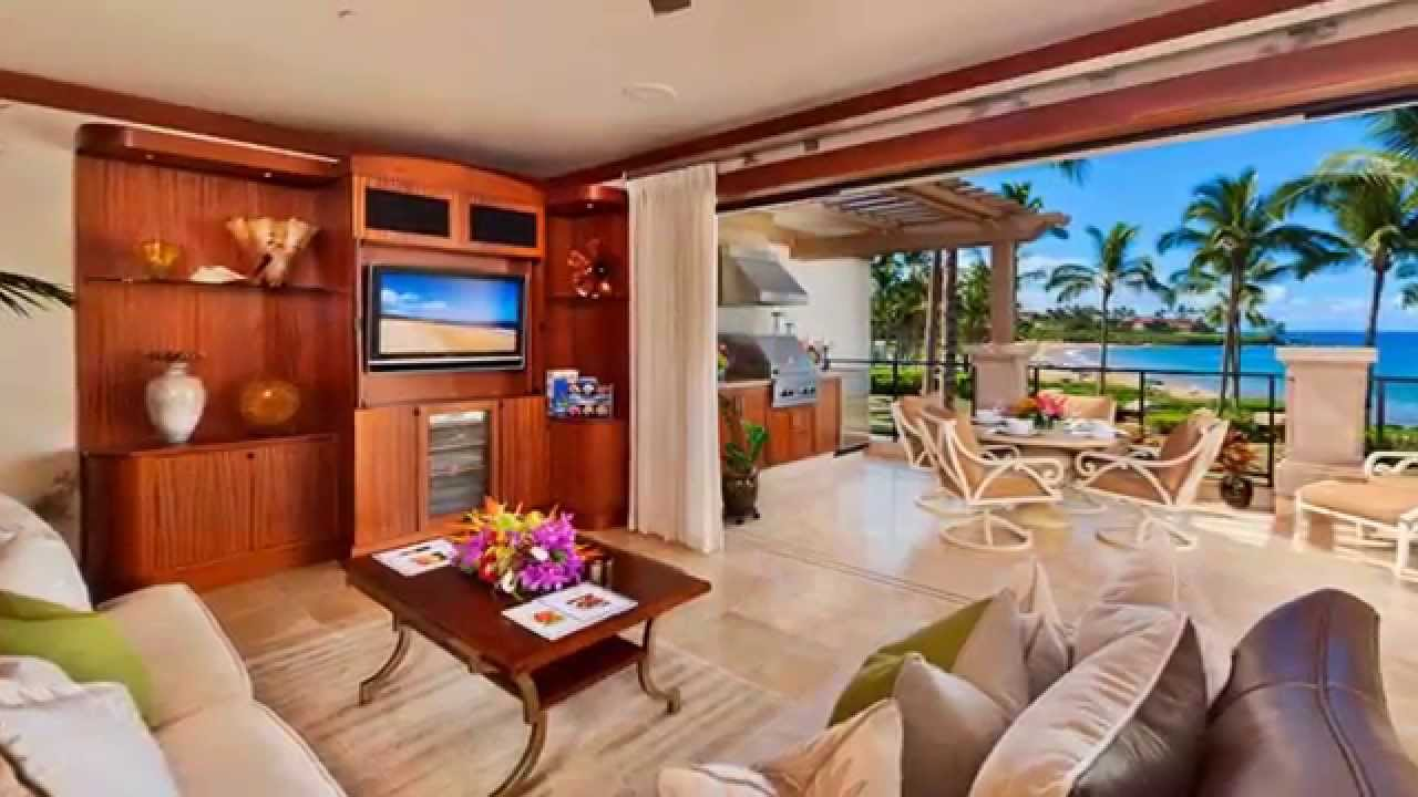 A201 Wailea Beach Villas Maui Hawaii Oceanfront Vacation Al