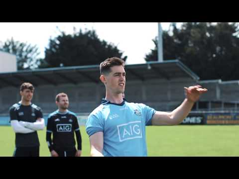 Dublin Footballer And Hurlers Show Their Skills