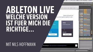 Ableton Live für Anfänger - Welche Version von Live ist für mich die richtige...?