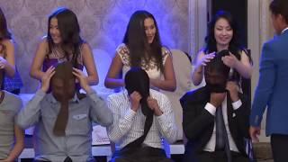 Свадебный конкурс с колготками