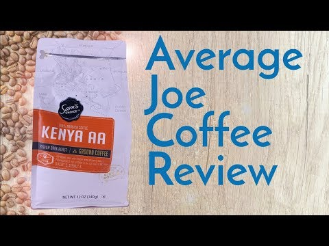 Sam's Choice Kenya AA Coffee Review