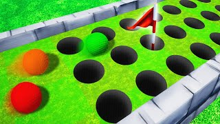 99% IMPOSSIBLE TO HIT THE RIGHT HOLE! (Golf It)