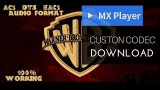 audio format eac3 not supported mx player