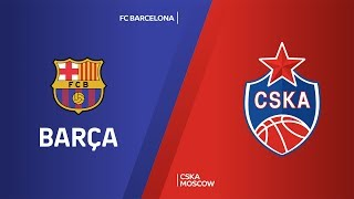 FC Barcelona - CSKA Moscow Highlights | Turkish Airlines EuroLeague, RS Round 11