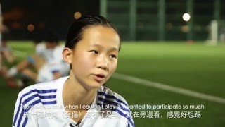 The football dream of Hong Kong's girls - Miranda Wu