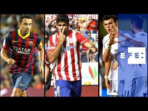 Atlético y Barça solos al frente de la tabla, Real Madrid y Villarreal se frenan