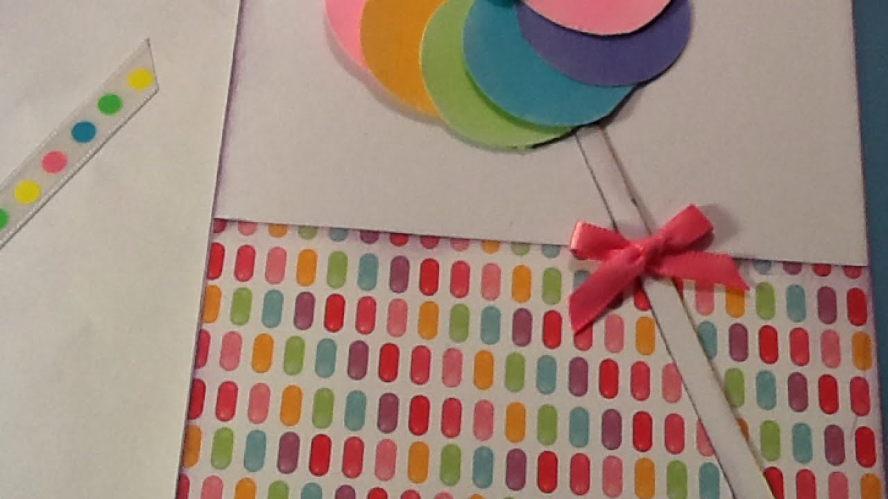How to create a sweet lollipop card diy crafts tutorial how to create a sweet lollipop card diy crafts tutorial guidecentral jeuxipadfo Choice Image