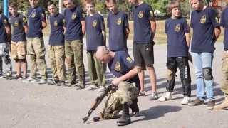 ''Азов'' провів показовий урок у Полтавській школі