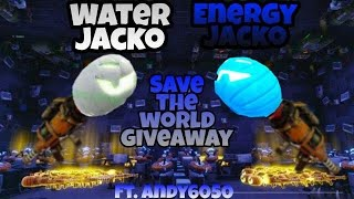 Fortnite Save The World Giveaway (Energy And Water Jackos)
