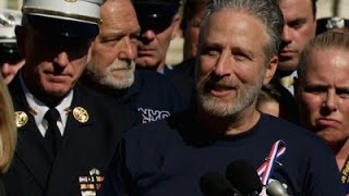 Jon Stewart Attends DC Rally For 9/11 Victims