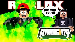 ROBLOX - MAD CITY WEAPONS UPDATE!!!