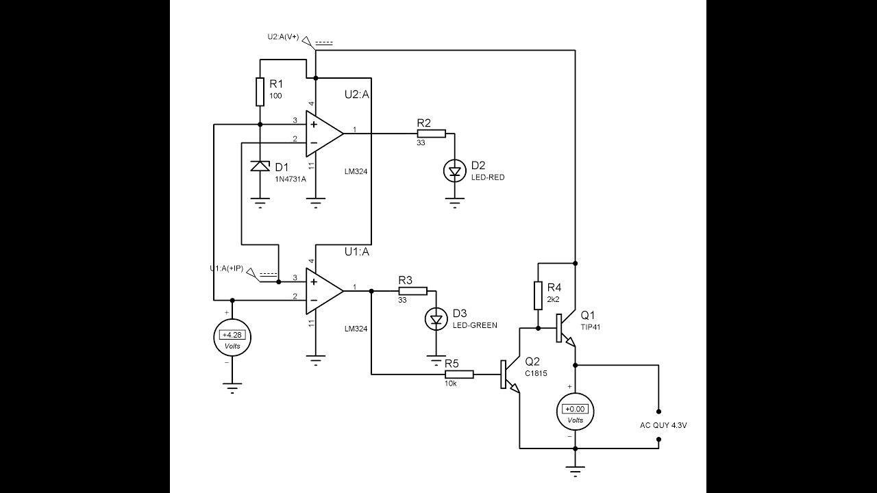 [DIY VỌC CHẾ] Thử nghiệm đồ án mạch sạc ắc quy tự ngắt dùng LM324 hoặc  LM358 - Phần 1