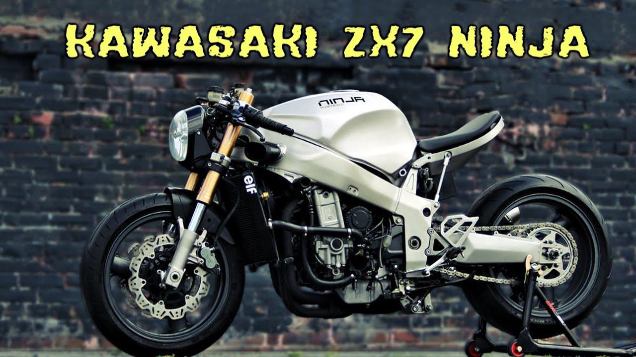 Kawasaki Ninja  R Cafe Racer