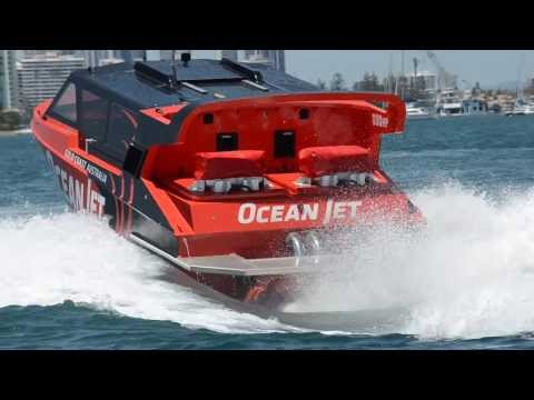 Ocean Jet boating Gold Coast - New Thrill Boat Ride to the Gold Coast