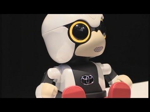 Toyota presenta un robot para hacer compañía a los humanos
