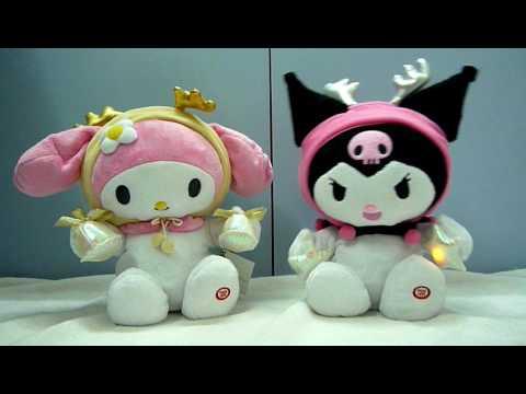 My Melody and Kuromi Xmas Dancers - YouTube   480 x 360 jpeg 13kB