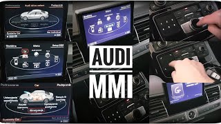 AUDI A8 MMI Multi Media Interface System - How To