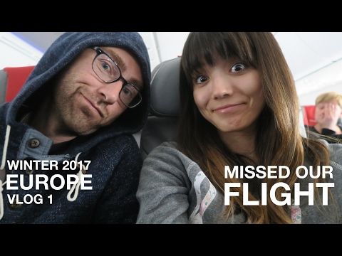 MISSED OUR FLIGHT! Getting to Berlin, Germany | EUROPE VLOG 1