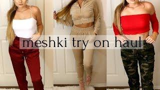 MESHKI BOUTIQUE TRY ON HAUL | Katie Hain