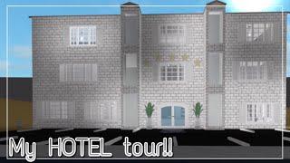 Roblox Bloxburg - MY HOTEL TOUR!! 🏨