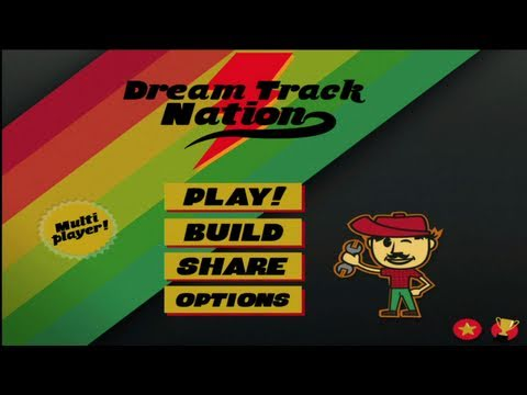 Dream Track Nation iPhone/iPad Gameplay (Universal App)
