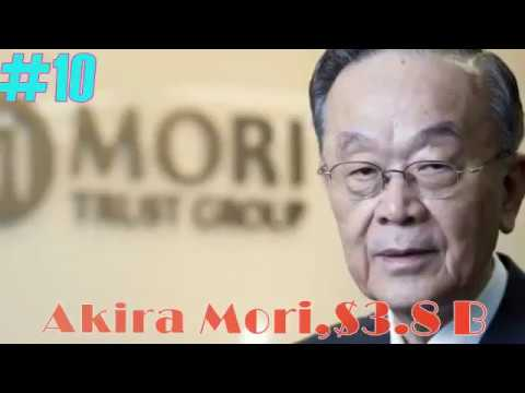 Top 10 Richest Person in Japan 2017