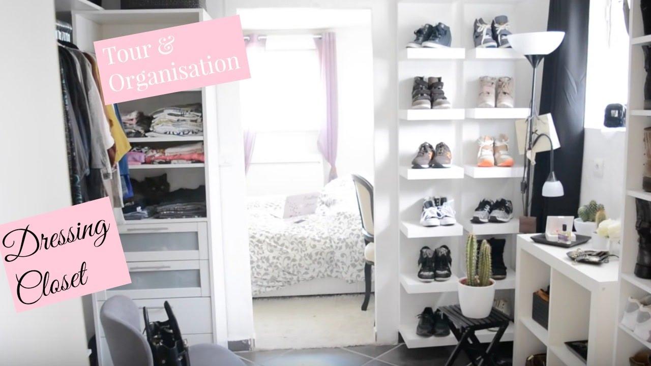 comment je range mon dressing astuce closet tour youtube. Black Bedroom Furniture Sets. Home Design Ideas