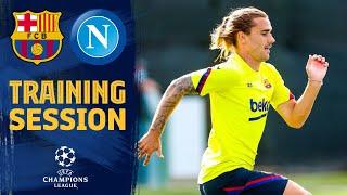 LET'S GO! Napoli preparations underway! 💪