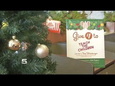 channel 5 teams up with whataburger for teach the children - Is Whataburger Open On Christmas