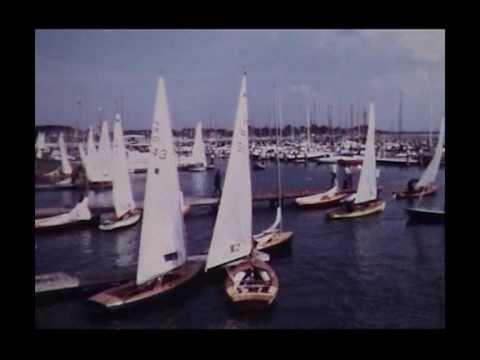 Segelwettbewerbe der XX. Olympischen Spiele in Kiel Schilksee (Amateuraufnahmen)