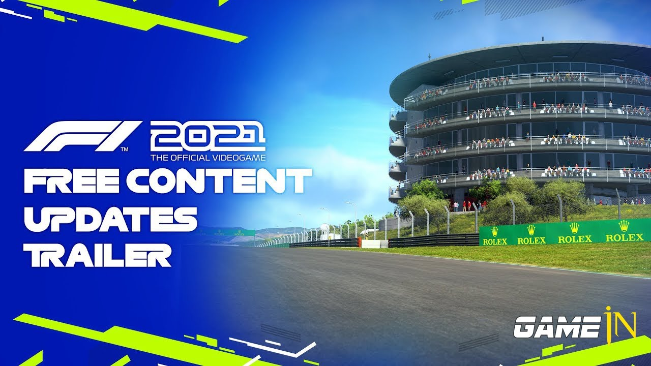 Trailer Video over F1 2021 - Free Portimao Content Updates Official 4K Trailer