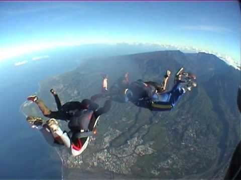 parachutisme 6000m