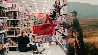 Military Wife Gets Creative to Include Deployed Husband in Christmas Card thumbnail