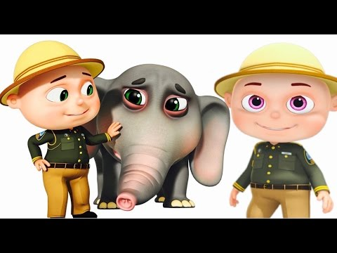 Thumbnail: Zool Babies Forest Rangers Episode | Elephant Rescue | Funny Cartoon Animation For Children