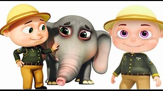 Zool Babies Forest Rangers Episode | Elephant Rescue | Funny Cartoon Animation For Children Video