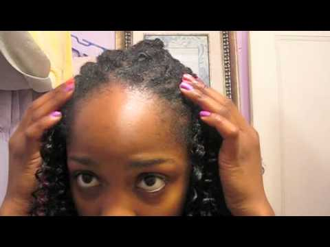 Crochet Hair Over Locs : Crochet Braids OVER LOCS!!!!! - YouTube