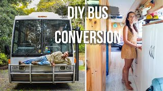 Beautiful Off-grid School Bus Conversion | Tiny House On Wheels