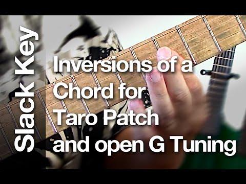 Taro patch open g tuning youtube
