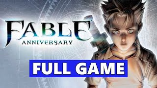 Fable 1 Full Walkthrough Gameplay - No Commentary (PC Longplay)