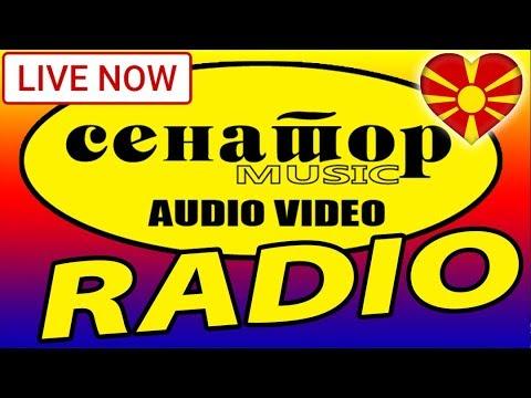 🔴 Makedonsko / Macedonian Radio - (Live Stream) - Senator Music Bitola