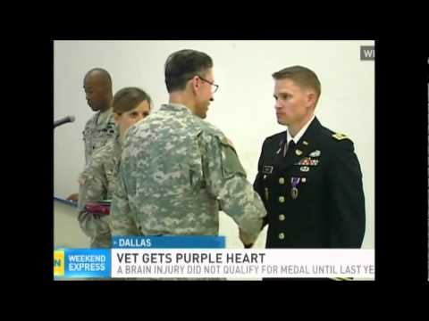 Can you get a purple heart for tbi