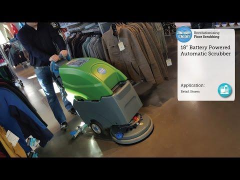 Simple Clean In Retail Store