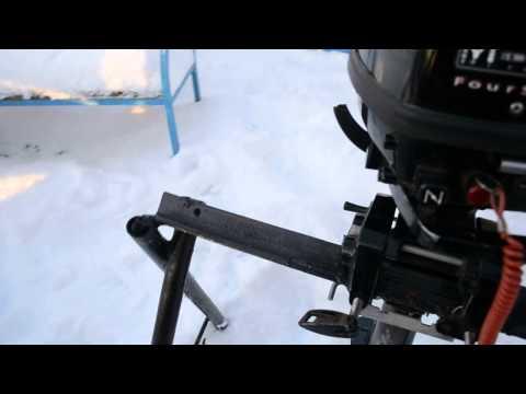 обкатки лодочного мотора mercury видео