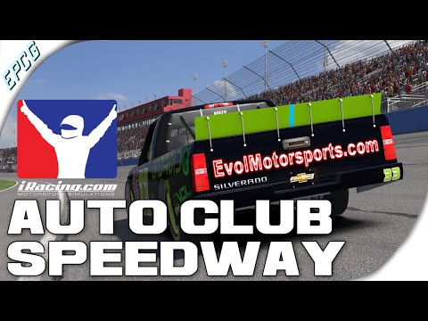 iRacing - Auto Club Speedway - Camping World Truck Series