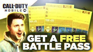 HOW TO GET A FREE BATTLE PASS!! (Call Of Duty: Mobile)