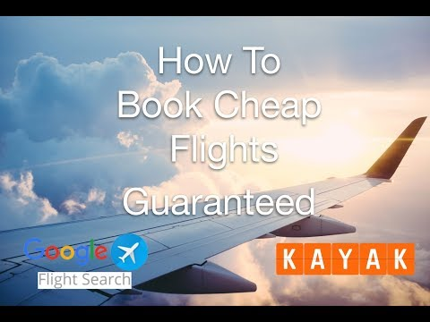 How To Find Cheap Flights With Kayak