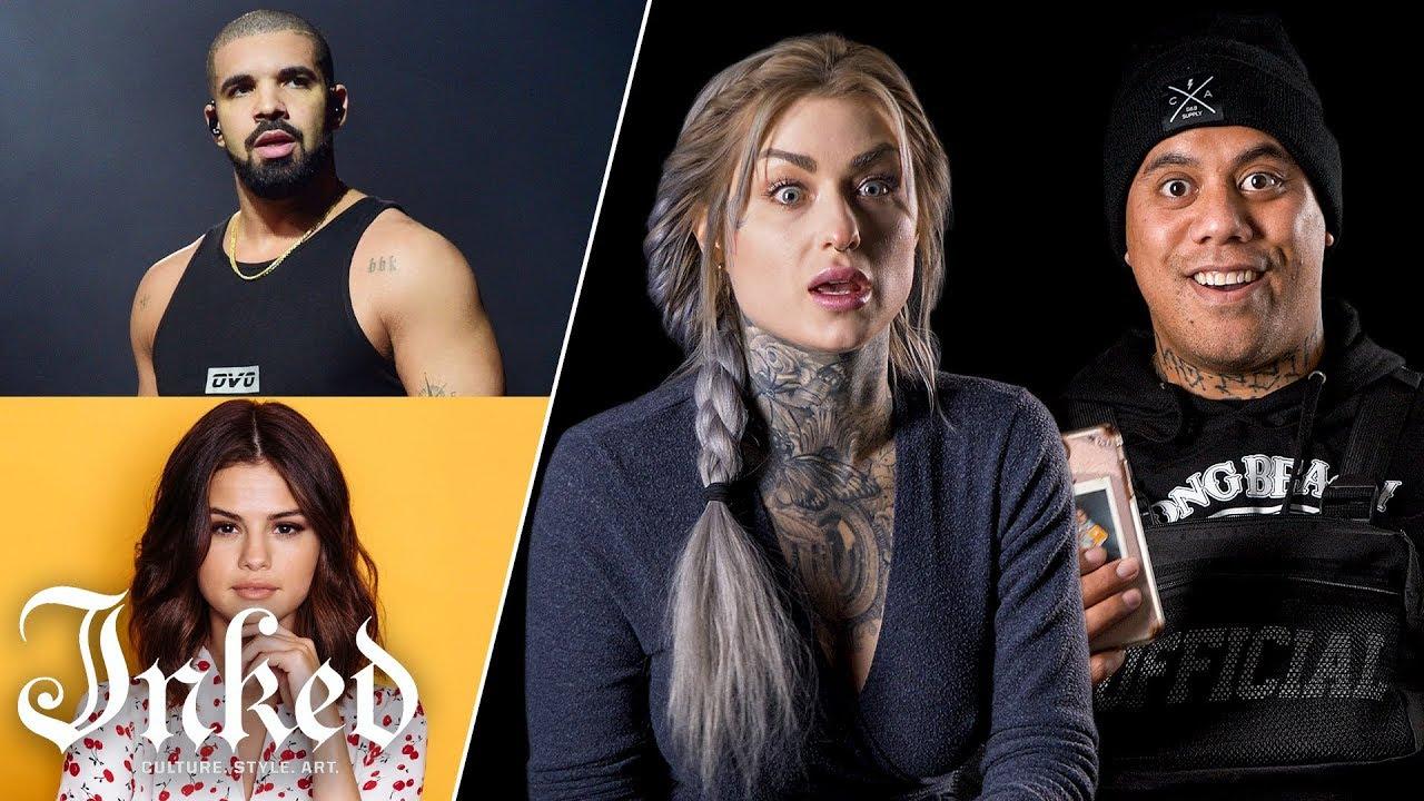 Tattoo Artists Guess Celebrity Tattoos | Tattoo Artists Answer