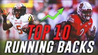 Top 10 Running Backs in the 2020 NFL Draft