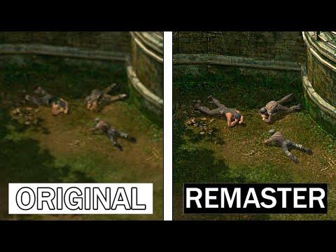 Commandos 2 HD Remaster | Original VS Remaster | 4K Graphics Comparison